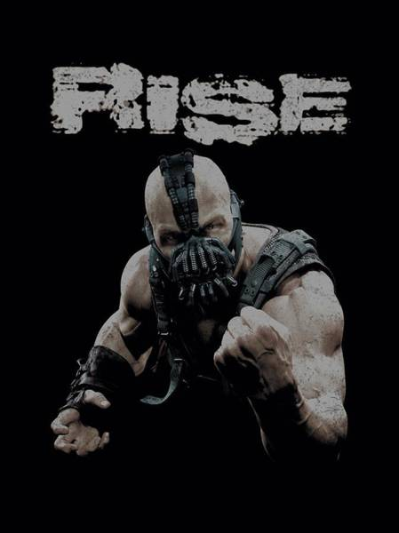 Dark Knight Digital Art - Dark Knight Rises - Rise by Brand A