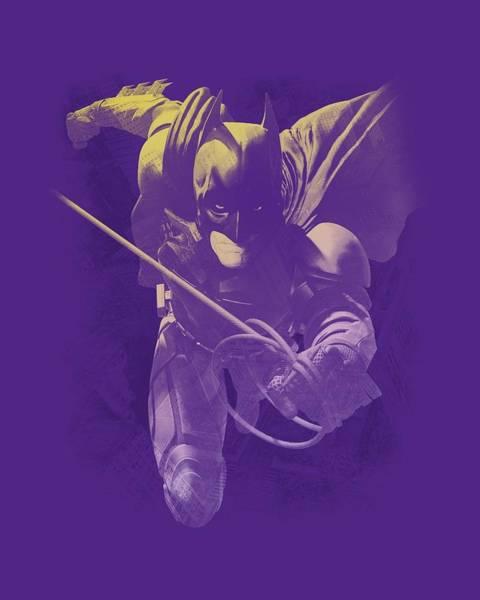 Dark Knight Digital Art - Dark Knight Rises - Rope Swing by Brand A