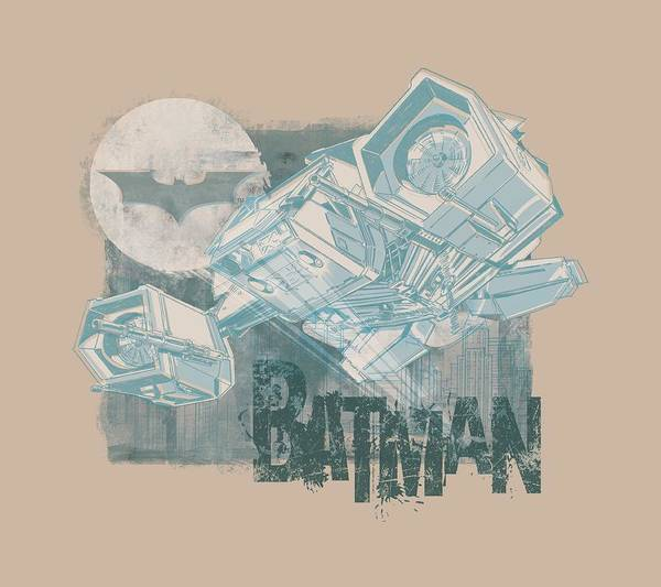 Dark Knight Digital Art - Dark Knight Rises - Signal Return by Brand A