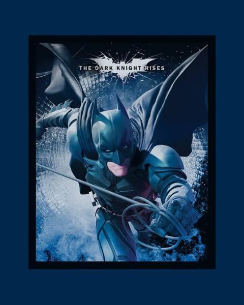 Dark Knight Digital Art - Dark Knight Rises - Swing Into Action by Brand A