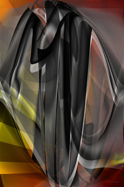 Digital Art - Dark Matter - Abstract by rd Erickson