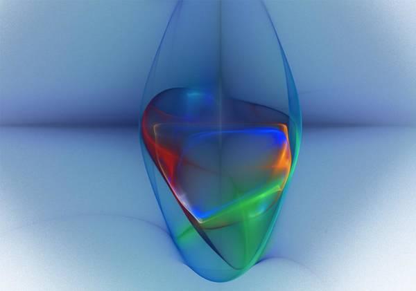 Wall Art - Digital Art - Dark Matter And Gravity Waves Revealed by David Lane