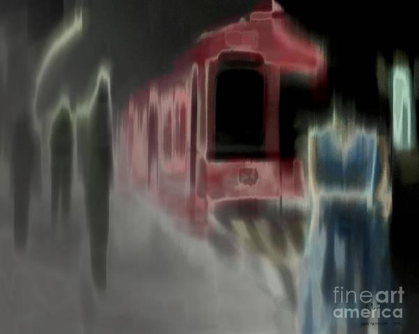 Wall Art - Digital Art - Dark Passengers by Pedro L Gili
