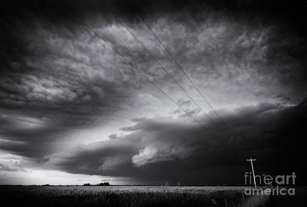 Shelves Photograph - Dark Prairie by Dan Jurak
