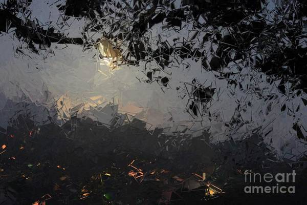 Digital Art - Dark Rain by The Art of Alice Terrill