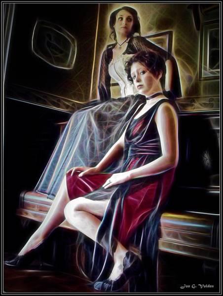 Painting - Dark Shadows by Jon Volden