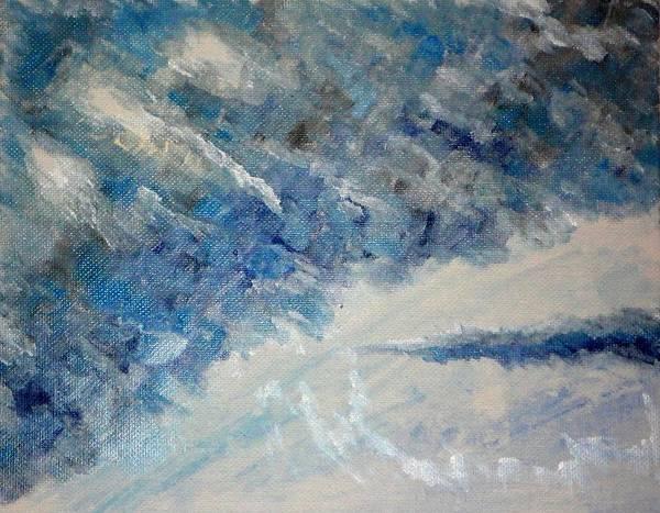 Wall Art - Painting - Dark Sky by Valerie Howell
