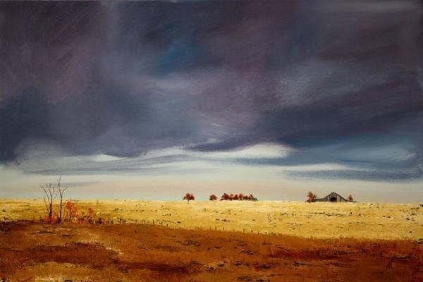 Painting - Dark Sky by William Renzulli