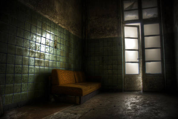 Dilapidation Wall Art - Digital Art - Dark Sofa by Nathan Wright