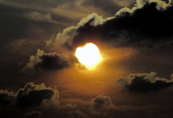 Photograph - Dark Sunset by Bob Slitzan