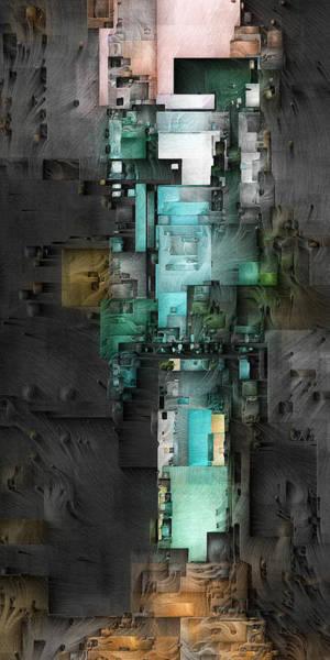 Digital Art - Dark Tower 1 by David Hansen