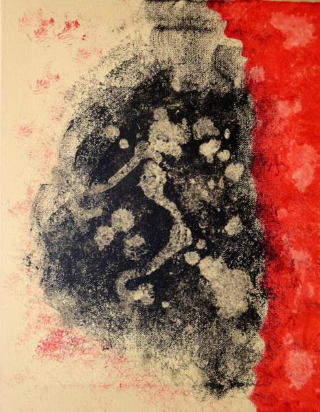 Wall Art - Painting - Dark by Valerie Howell