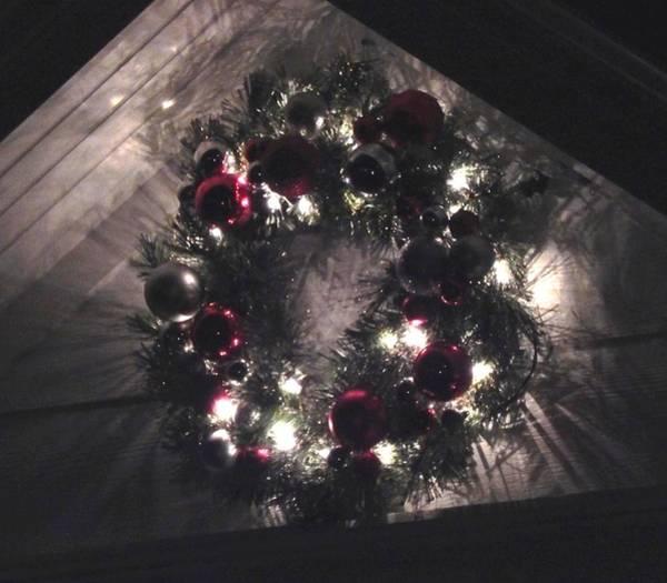 Photograph - Dark Wreath by Wild Thing