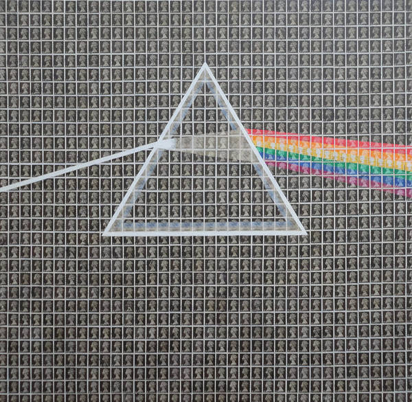 Pink Floyd Painting - Darkside Of The Moon by Gary Hogben