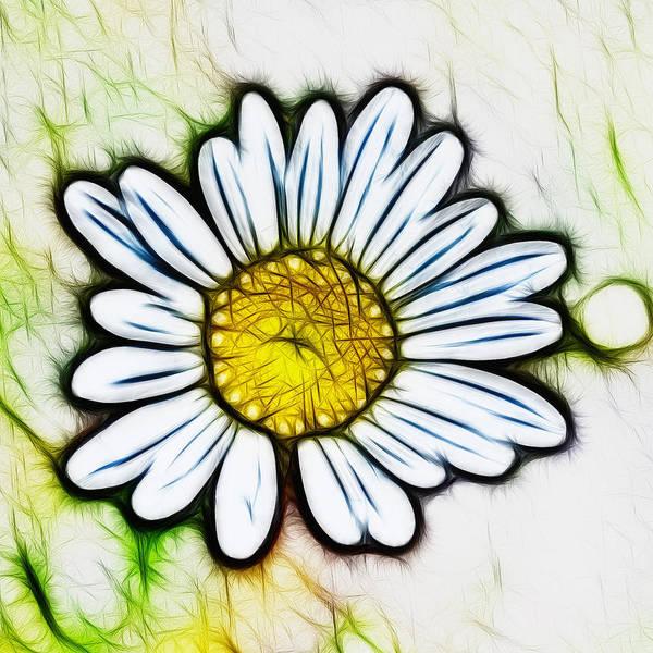 Digital Art - Darlin' Daisy by Beth Sawickie