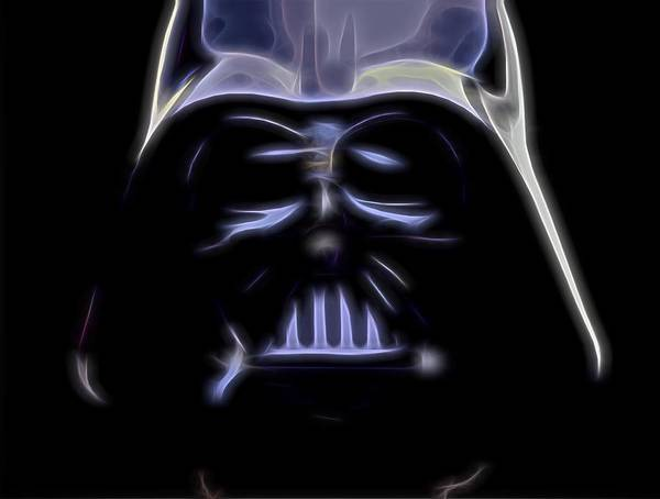 Wall Art - Digital Art - Darth Vader by Dan Sproul