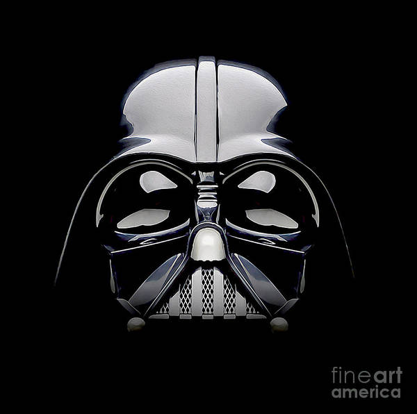 The Empire Photograph - Darth Vader Helmet by Jon Neidert
