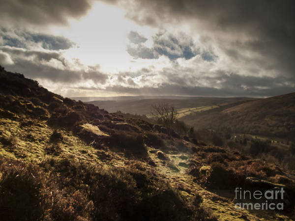 Upland Wall Art - Photograph - Dartmoor Drama by Jan Bickerton