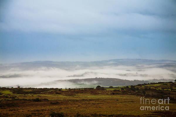 Moorland Photograph - Dartmoor Mist by Jan Bickerton
