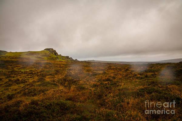 Moorland Photograph - Dartmoor Rain by Jan Bickerton