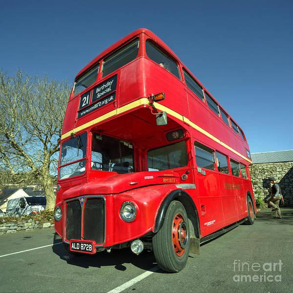 Wall Art - Photograph - Dartmoor Routemaster  by Rob Hawkins