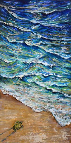 Dash To The Tide Art Print
