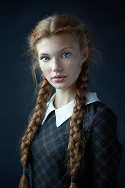 Alexander Photograph - Dasha by Alexander Vinogradov
