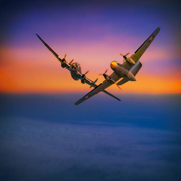 Photograph - Dassault Md 315 Flamant by Chris Lord