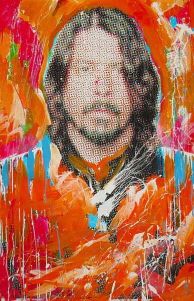 Foo Fighters Wall Art - Painting - Dave Grohl by Elliott Aaron From