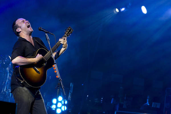 Acoustic Guitar Photograph - Dave Matthews At Alpine Valley by Shawn Everhart