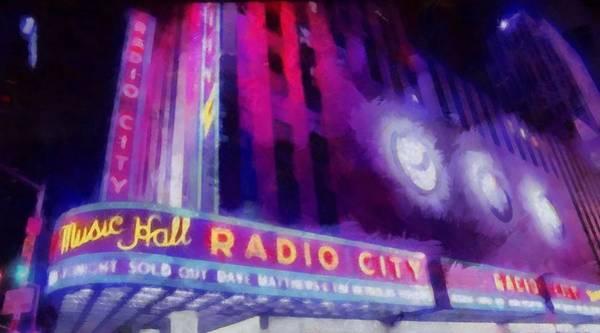 Wall Art - Painting - Dave Matthews At Radio City Music Hall by Dan Sproul