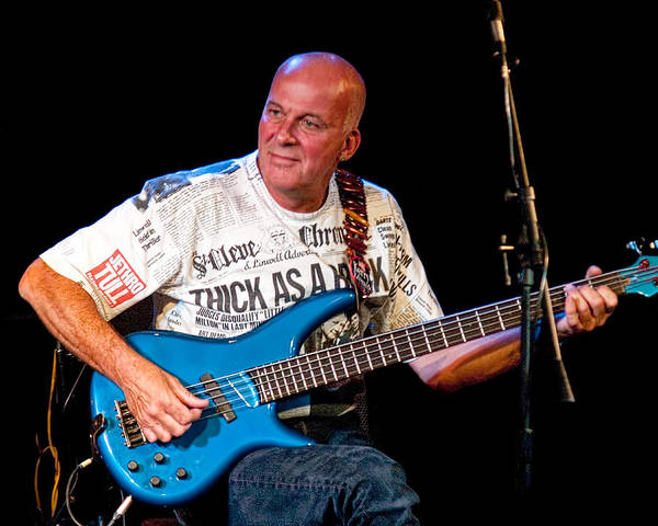 Photograph - Dave Pegg Bass Player For Fairport Convention And Jethro Tull by Randall Nyhof