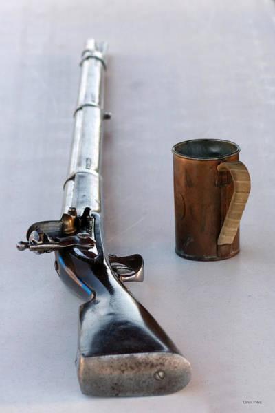 Photograph - Davey Crockett Rifle And Copper Mug by Lesa Fine