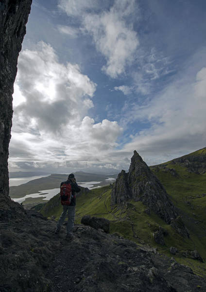 Photograph - David At The Old Man Of Storr by Dubi Roman