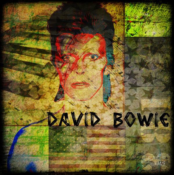 Wall Art - Digital Art - David Bowie by Absinthe Art By Michelle LeAnn Scott