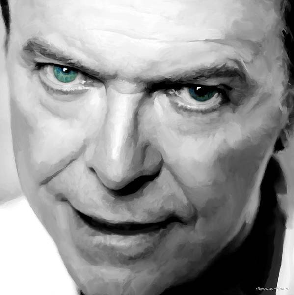 Glam Rock Digital Art - David Bowie In Clip Valentine's Day - 1 by Gabriel T Toro