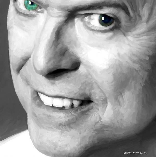 Digital Art - David Bowie In Clip Valentine's Day - 2 by Gabriel T Toro