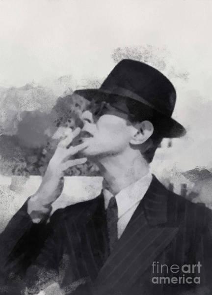 Digital Art - David Bowie by Paulette B Wright