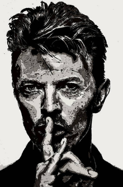 David Bowie - Pencil Art Print