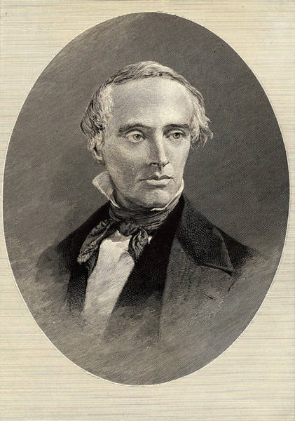 Founded Photograph - David Dale Owen by Universal History Archive/uig