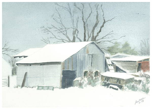 David Hoyles Shed Art Print