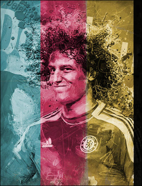 Wall Art - Painting - David Luiz - C by Corporate Art Task Force