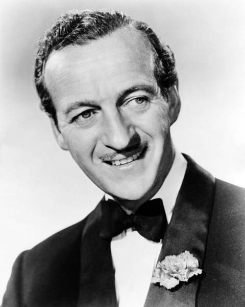Oh Wall Art - Photograph - David Niven In Oh, Men! Oh, Women!  by Silver Screen
