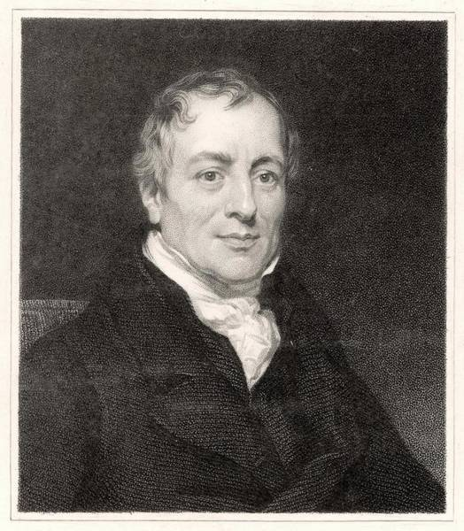 Wall Art - Drawing - David Ricardo  Economist        Date by Mary Evans Picture Library