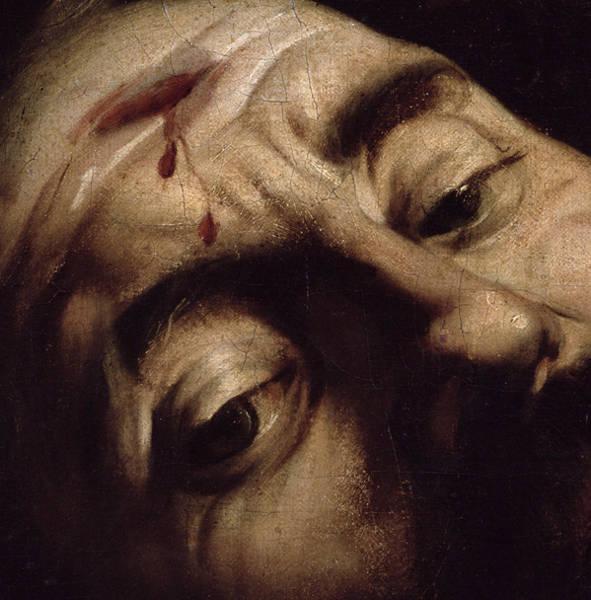 Photograph - David Victorious Over Goliath, C.1600 Oil On Canvas Detail Of 38076 by Michelangelo Merisi da Caravaggio