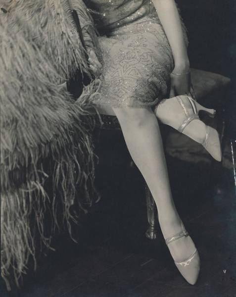 Lady Slipper Photograph - Davidofa Wearing High Heels By Mrs. Insoll By Bob by Edward Steichen