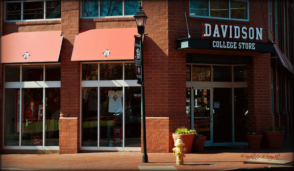 Photograph - Davidson College Store by Paulette B Wright