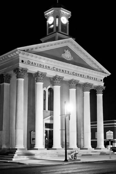 Photograph - Davidson County Courthouse N by Patrick M Lynch