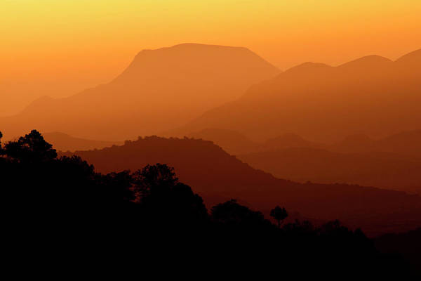 Chihuahuan Desert Photograph - Davis Mountains At Sunrise In West Texas by Larry Ditto