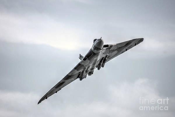Vulcan Bomber Photograph - Dawlish Vulcan  by Rob Hawkins